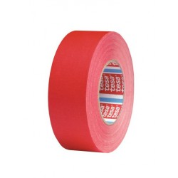 Tesa 4671 acrylbelagt lærredstape, rød
